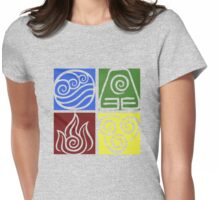 Four Elements - Simple Womens Fitted T-Shirt