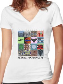 The Maccabees - Marks To Prove It Women's Fitted V-Neck T-Shirt