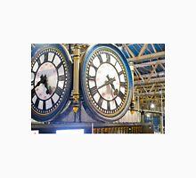 Clock London Waterloo Railway Station Classic T-Shirt