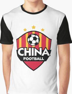 Football emblem of China Graphic T-Shirt
