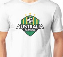Football emblem of Australia Unisex T-Shirt