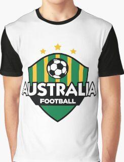Football emblem of Australia Graphic T-Shirt