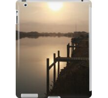Sun Rising through Grampians Smoke iPad Case/Skin