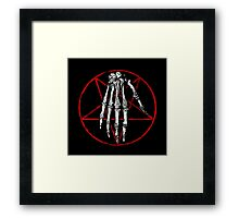 The Hand Of Death Framed Print
