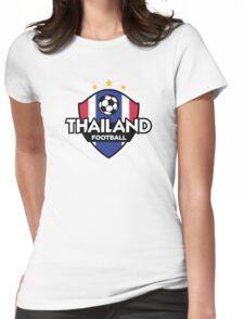 Football emblem of Thailand Womens Fitted T-Shirt
