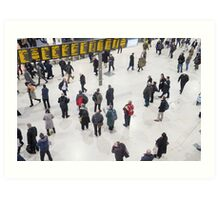 London Waterloo Station Art Print