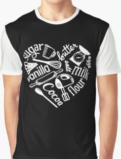 I Love Baking Graphic T-Shirt