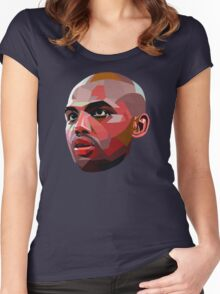 Charles Barkley Women's Fitted Scoop T-Shirt