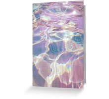 Holographic Waters Greeting Card
