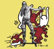 Keith Haring - The man and the art One Piece - Short Sleeve