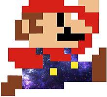 Galaxy Mario Photographic Print