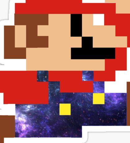 Galaxy Mario Sticker