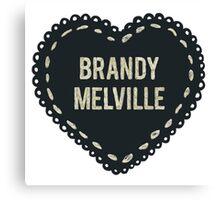 Brandy melville Canvas Print