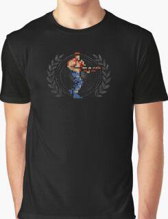 Contra - Sprite Badge Graphic T-Shirt