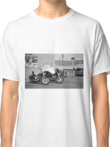 Route 66 - Grants, New Mexico Motorcycles Classic T-Shirt