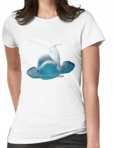 Whale Hello There Beluga Womens Fitted T-Shirt