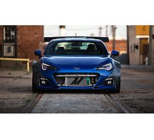Blue Monster BRZ Photographic Print