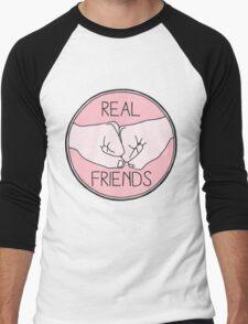 Real Friends Men's Baseball ¾ T-Shirt