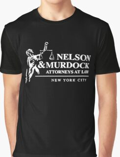Nelson & Murdock Attorneys at Law Graphic T-Shirt