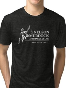 Nelson & Murdock Attorneys at Law Tri-blend T-Shirt