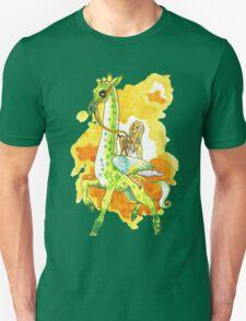 Katie's Flying Giraffe Unisex T-Shirt