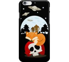Dreaming of Cryptids and UFOs iPhone Case/Skin