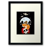 Dreaming of Cryptids and UFOs Framed Print