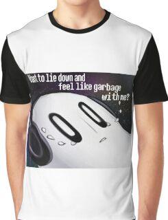 Undertale Napstablook Graphic T-Shirt