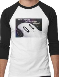 Undertale Napstablook Men's Baseball ¾ T-Shirt