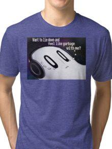 Undertale Napstablook Tri-blend T-Shirt