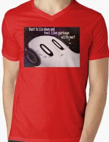 Undertale Napstablook Mens V-Neck T-Shirt