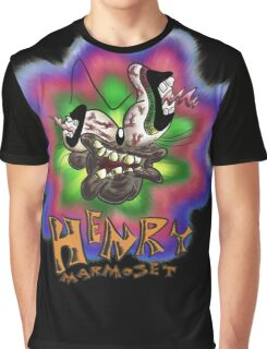 Henry Marmoset FREAK OUT Graphic T-Shirt
