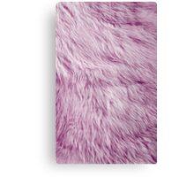 Pastel Fur Canvas Print