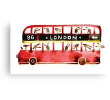 Bunny in London Canvas Print