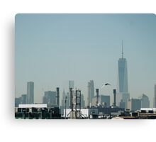 Freedom Tower in the Distance  Canvas Print