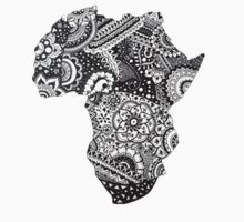 africa map Kids Clothes