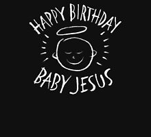 Happy Birthday Baby Jesus - Religious Chalkboard Merry Christmas - Chalk Classic T-Shirt