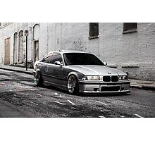 BMW E36 M3 Photographic Print