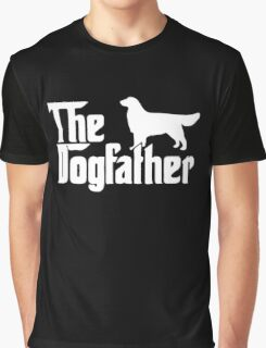 The Dogfather Golden Retriever Sleeveless Graphic T-Shirt