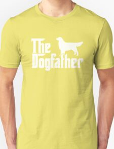 The Dogfather Golden Retriever Sleeveless T-Shirt