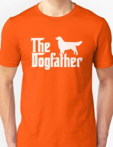 The Dogfather Golden Retriever Sleeveless Unisex T-Shirt