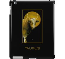 The Taurus Zodiac Emblem iPad Case/Skin