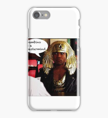 Gambino Is A Mastermind iPhone Case/Skin