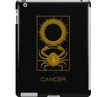 The Cancer Zodiac Emblem iPad Case/Skin