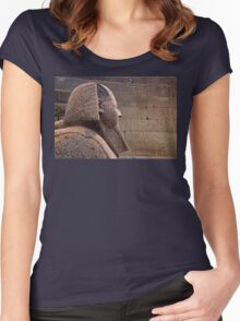 Sphinx of Hatshepsut Women's Fitted Scoop T-Shirt