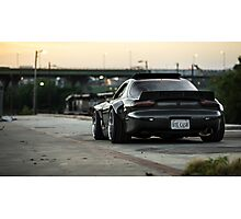 Rocket Bunny RX7  Photographic Print