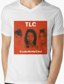TLC - CrazySexyCool Mens V-Neck T-Shirt