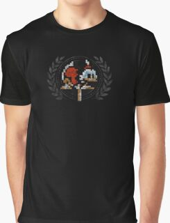 Scrooge McDuck - Sprite Badge Graphic T-Shirt