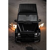 Flame Throwing G63 Photographic Print