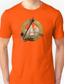 Clipper Through A Porthole T-Shirt